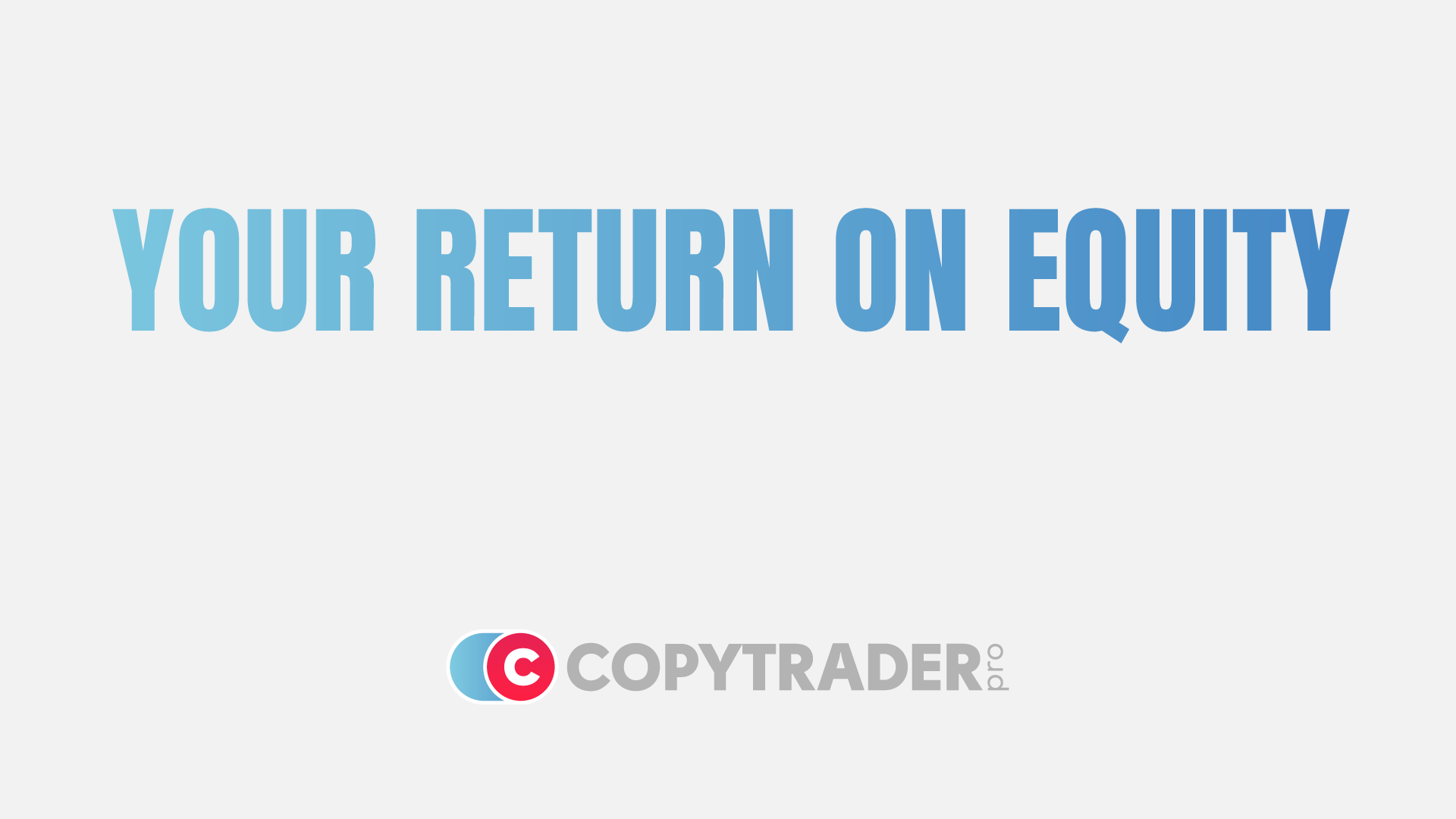 How does CopyTrader Pro calculate your returns?